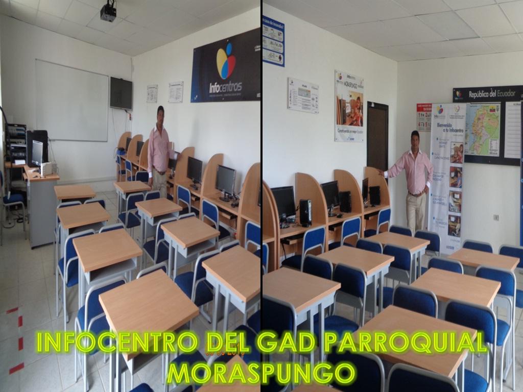 1.3 INFOCENTRO del GAD parroquial Moraspungo